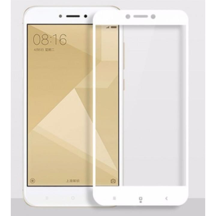 Защитное стекло Xiaomi Mi A2/Redmi 6X (Белое)