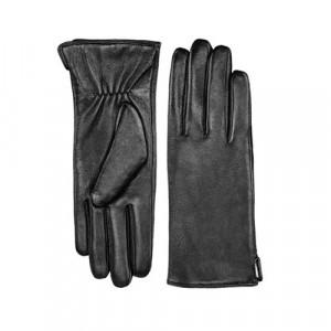 Кожаные перчатки для сенсорных экранов Xiaomi Qimian (L) (Женские) (Черные)