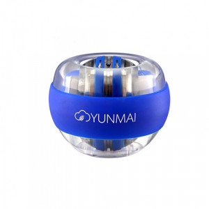 Кистевой гироскопический тренажер Xiaomi Yunmai Powerball (Синий)
