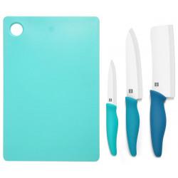 Набор керамических ножей с разделочной доской Xiaomi Huohou Ceramic Knife Chopping Block Kit
