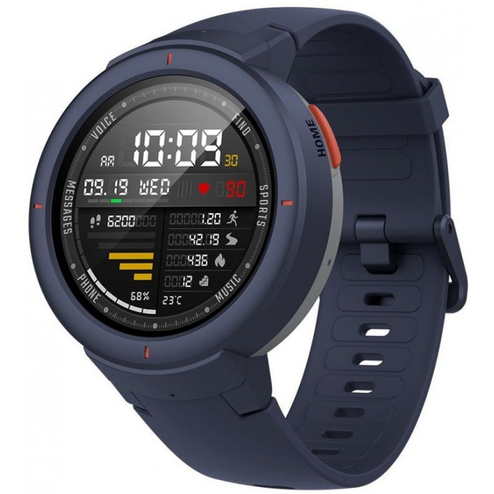Умные часы Xiaomi Amazfit Verge International Version (A1811) (Синий)