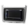 CARAV 11-540 (2-DIN монтажная рамка для а/м VOLKSWAGEN Polo 2014+ (серебро))