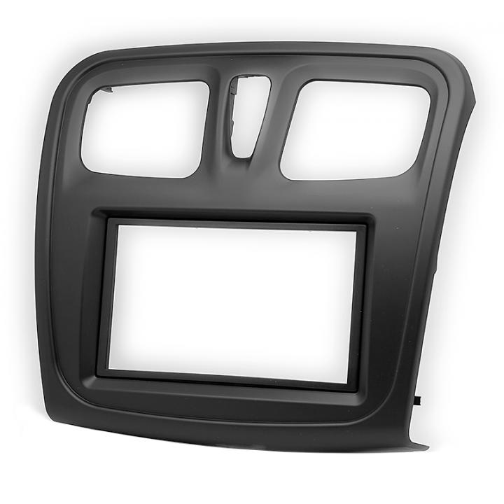 CARAV 11-762 (2 DIN монтажная рамка для а/м RENAULT Logan 2013+; Sandero 2012+ / DACIA Sandero 2013+; Logan 2012+)