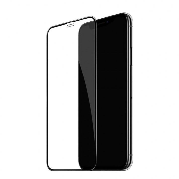 Защитное стекло AUZER iPhone Xr/11 (Черное)