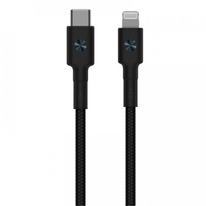 Кабель Xiaomi ZMI USB-C/Lightning (30 см) (AL872) (черный)