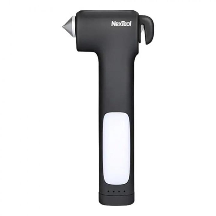 Многофункциональный аварийный молоток Xiaomi Nextool Multifunctional Survival Hammer (KT5531) (Черный)