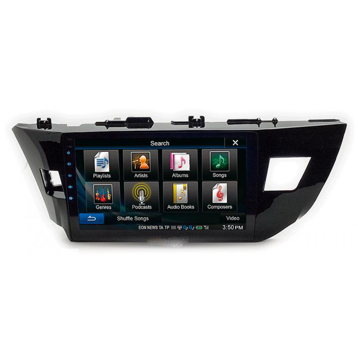 """CARAV 22-013 (10.1"""" монтажная рамка для а/м TOYOTA Corolla 2013-16 (Ver.1 / руль слева))"""