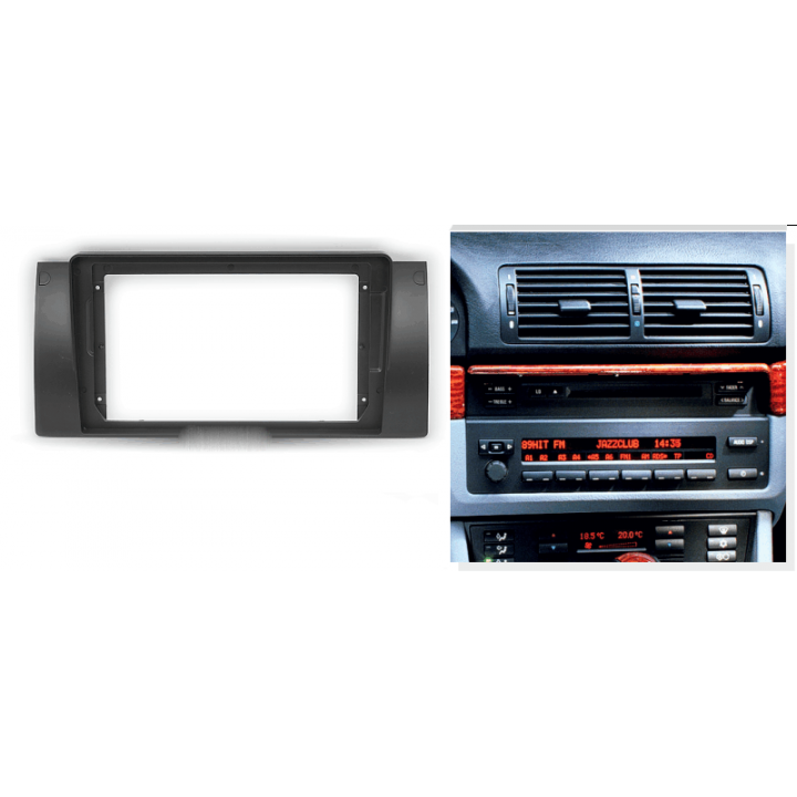 "CARAV 22-041 (9"" монтажная рамка для а/м BMW 5-Series (E39) 1995-2003; X5 (E53) 1999-2006"