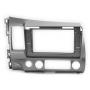 """CARAV 22-063 (10.1"""" монтажная рамка для а/м  HONDA Civic Sedan 2007-11 (руль слева / серый))"""