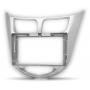 "CARAV 22-105 (9"" монтажная рамка для а/м HYUNDAI Solaris, i25, Accent, Verna 2010-17 / DODGE Attitude 2011-14)"