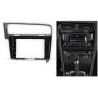 """CARAV 22-469 (10.1"""" монтажная рамка для а/м VOLKSWAGEN Golf 7 2012+ (руль слева / глянцевый черный))"""