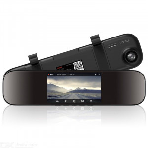 Умное зеркало видеорегистратор 70 Mai (Midrive D04) (черный)