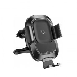Автомобильный держатель с функцией беспроводной зарядки Baseus Smart Vehicle Bracket Wireless Charget