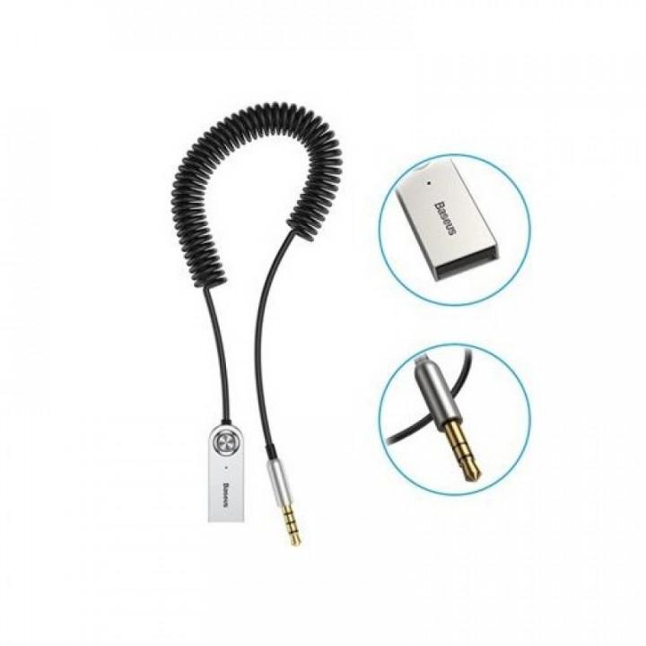Адаптер ресивер Baseus Bluetooth AUX Audio Adapter BA01 (CABA01-01) (Черный)