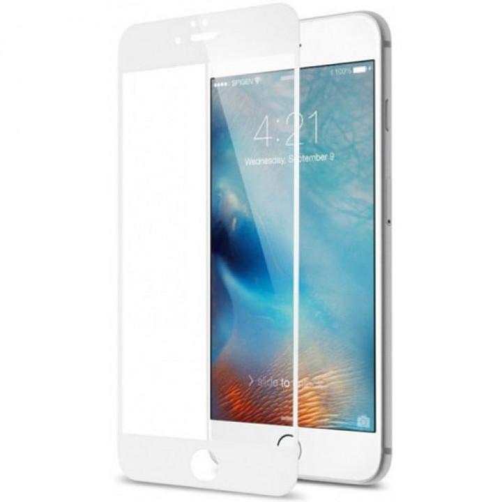 Защитное стекло AUZER iPhone 6 Plus/7 Plus/8 Plus (Белое)