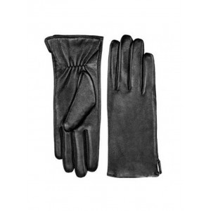 Кожаные перчатки для сенсорных экранов Xiaomi Qimian (XL) (Женские) (Черные)