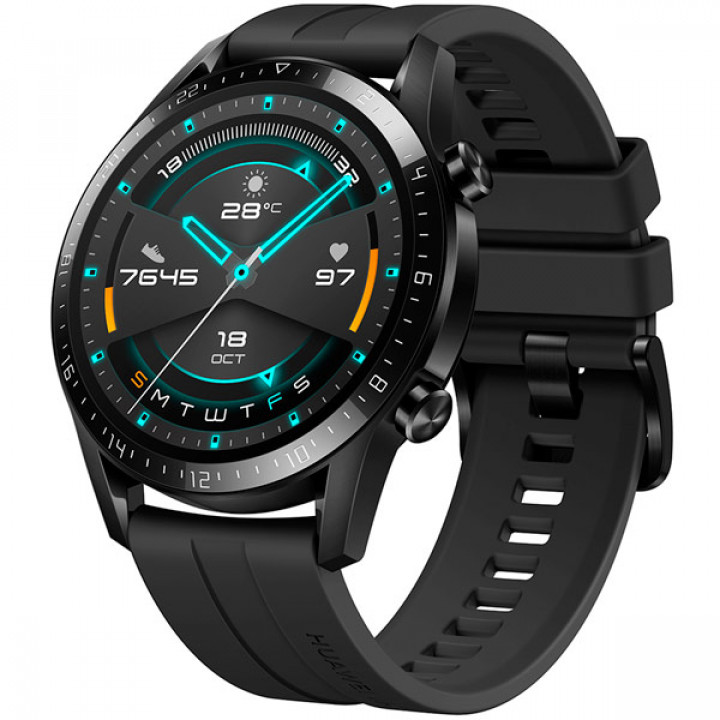 Смарт-часы Huawei Watch GT 2 (Черный) (LTN-B19) (RUS)
