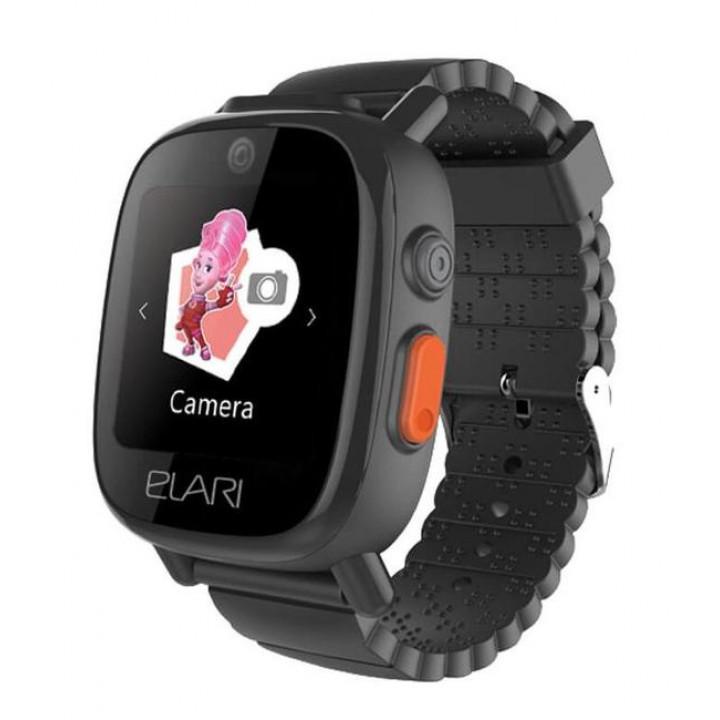Детские часы с GPS Elari Fixitime 3 (Черные)