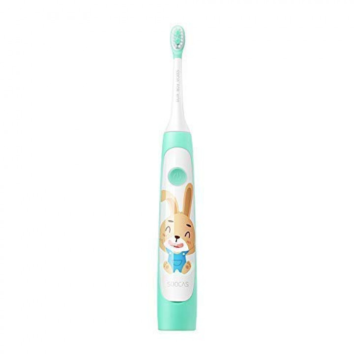 Электрическая зубная щетка детская Xiaomi Soocas Сhildren's Electric ToothBrush C1 (Зеленая)