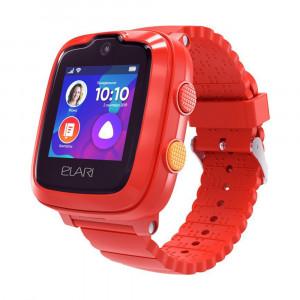 Детские часы с GPS Elari KidPhone 4G (Красный)