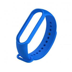Силиконовый ремешок Xiaomi Mi Band 5 (синий)