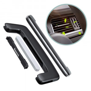 Автомобильный освежитель воздуха Baseus Paddle Car Air Freshener (SUXUN-BP01) (Черный)