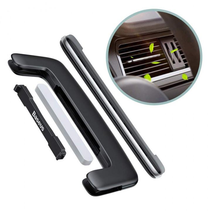 Автомобильный освежитель воздуха Baseus Paddle Car Air Freshener (SUXUN-BP0S) (Серый)