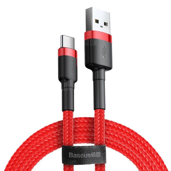 Кабель Baseus Cafule Cable Lightning 1.5A 2m (CALKLF-C09) (Красный)