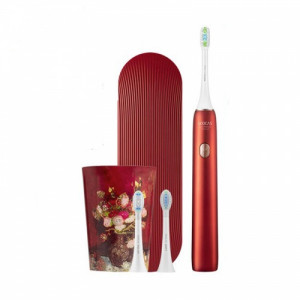 Электрическая зубная щетка Xiaomi Soocas X3U Van Gogh Museum Design (Красный)