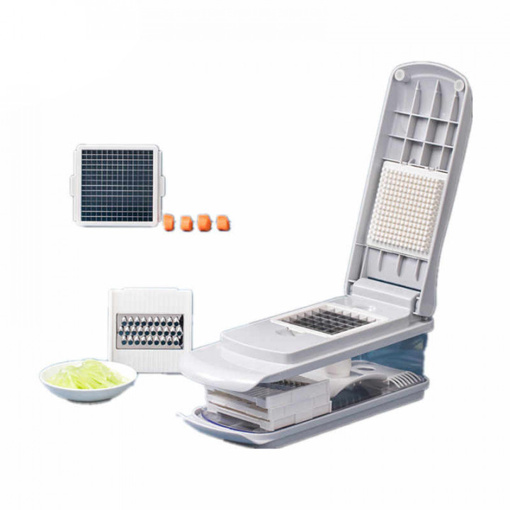 Овощерезка Xiaomi Jordan Judy Manual Vegetable Cutter Slicer Fruit Melon Peeler (6 в 1) (HO491) (Серый)