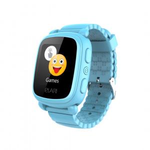Детские часы с GPS Elari KidPhone 2 (Голубые)