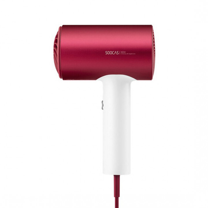 Фен для волос Xiaomi Soocas Hair Dryer H5 (H5-T) (Красный)