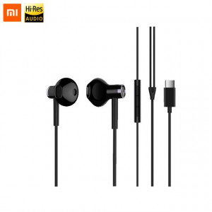 Наушники Xiaomi Dual-Unit Half-Ear Type-C (черный)
