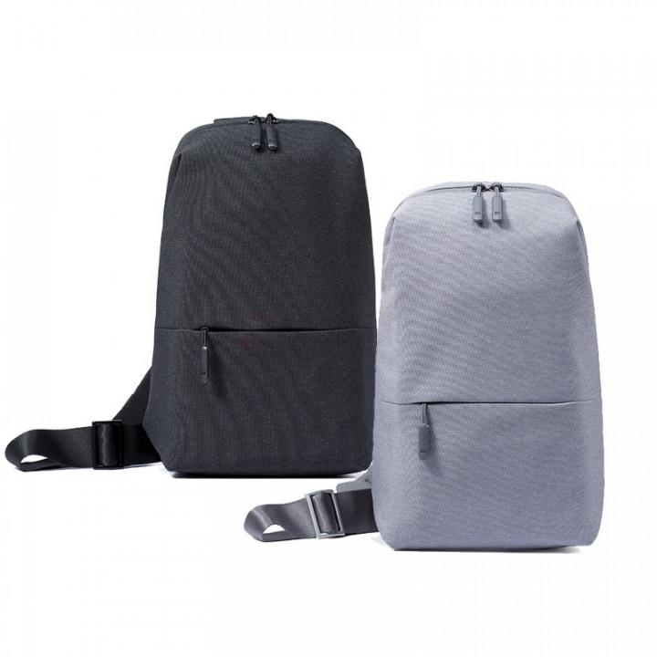Рюкзак Xiaomi Chest Bag (рюкзак через плечо) (Черный)