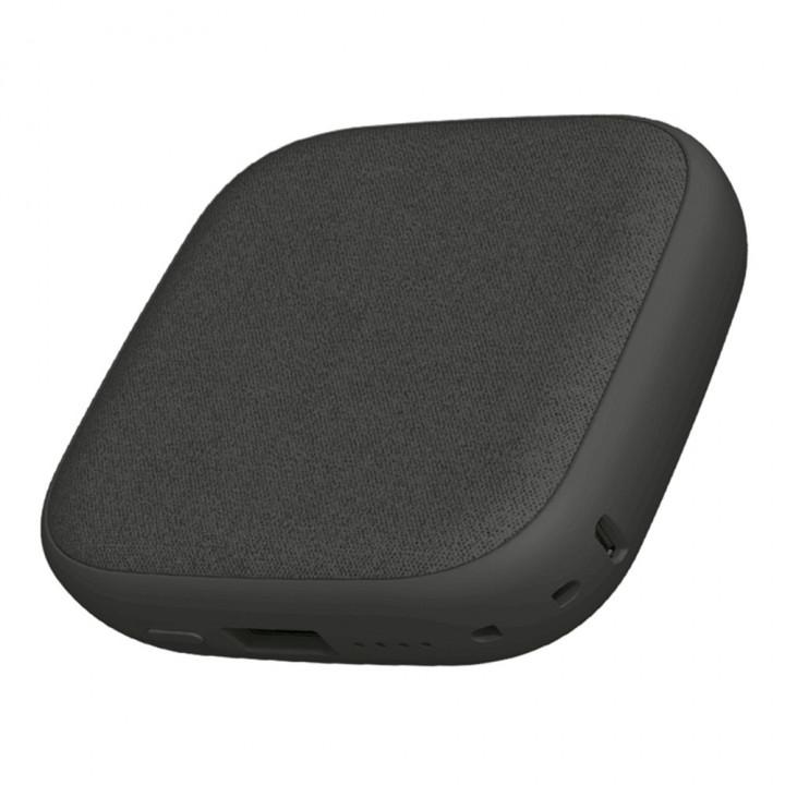 Внешний аккумулятор с беспроводной зарядкой Xiaomi Solove Wireless Mobile Charging (W5) (10000mAh) (Серый)