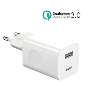 Зарядное устройство Baseus Quick Charger (EU) (CCALL-BX02) (Белый)