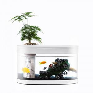 Аквариум Xiaomi Descriptive Geometry Amphibious Ecological View Fish Tank (HF-JHYG001)