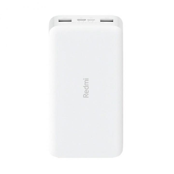 Внешний аккумулятор Xiaomi Redmi Power Bank (20000mAh) (Белый)