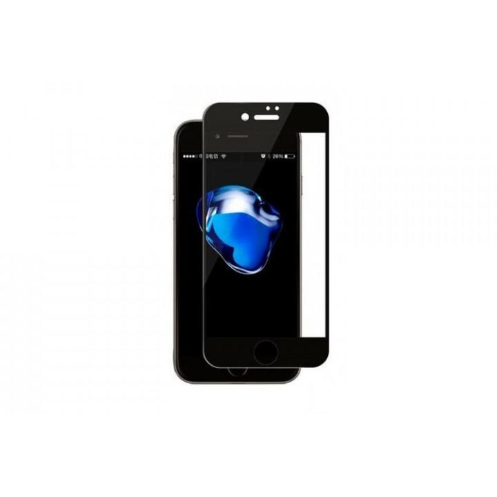 Защитное стекло iPhone 7Plus/8Plus (Черное)