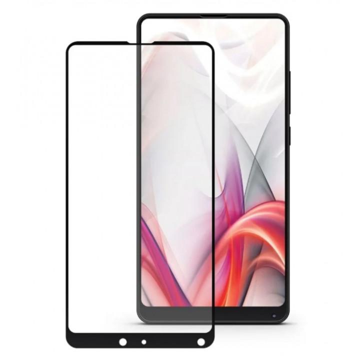 Защитное стекло Xiaomi Mi Mix 2/2S (Черное)