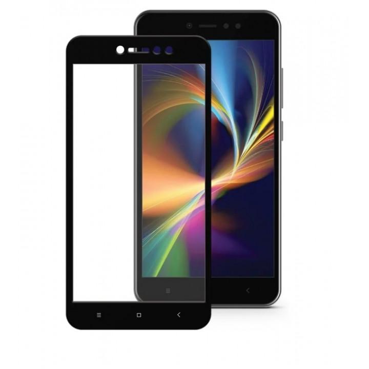 Защитное стекло Xiaomi Redmi Note 5A (Черное)
