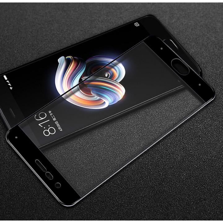 Защитное стекло Xiaomi Mi Note 3 (Черное)