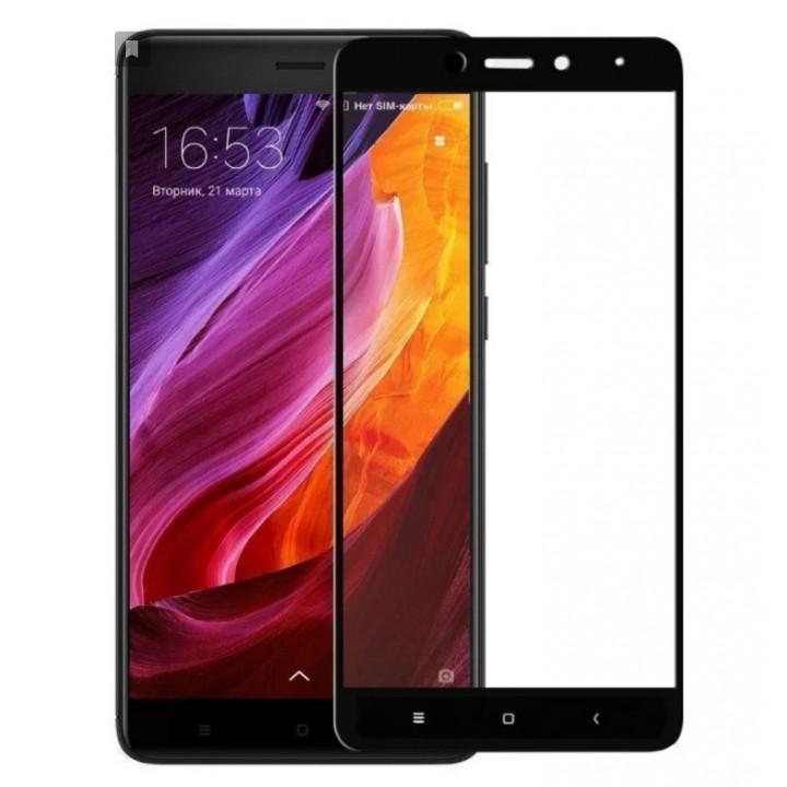 Защитное стекло Xiaomi Redmi 4A (Черное)