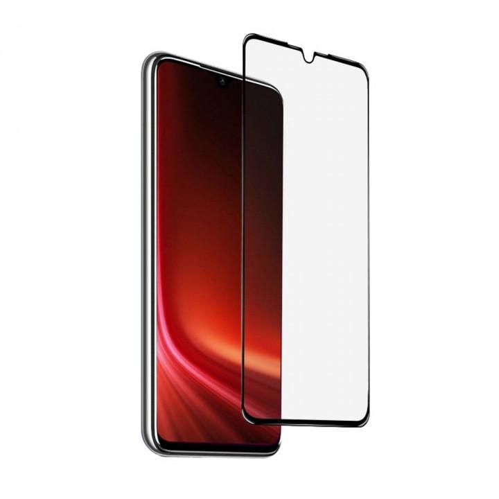 Защитное стекло AUZER Xiaomi Redmi Note 8 Pro (Черное)