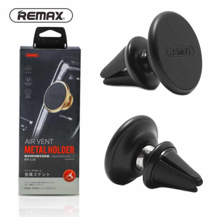 Автомобильный магнитный держатель Remax RM-C28 (Черный)