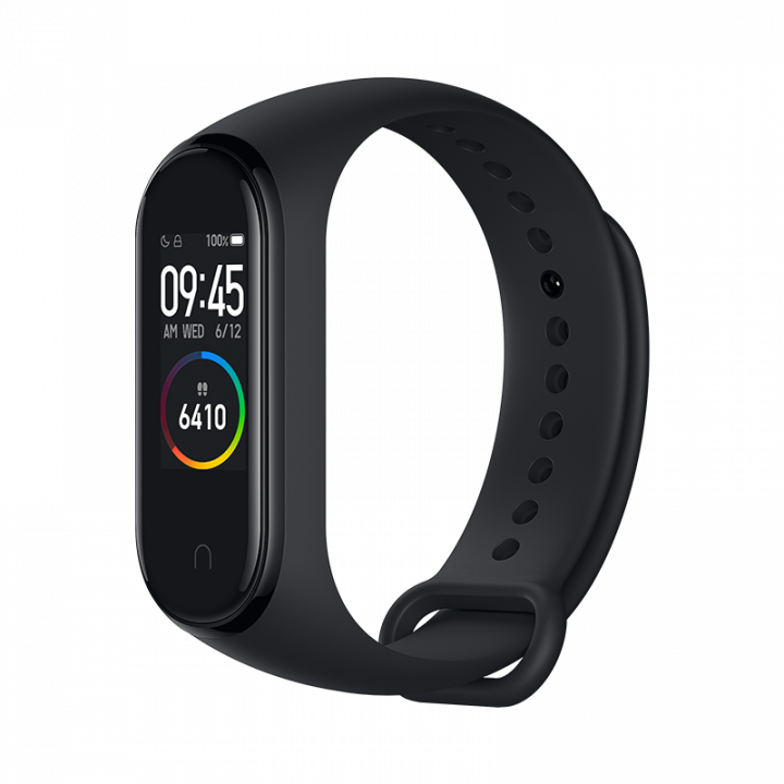 Фитнес-браслет Xiaomi Mi Smart Band 4 NFC (черный)