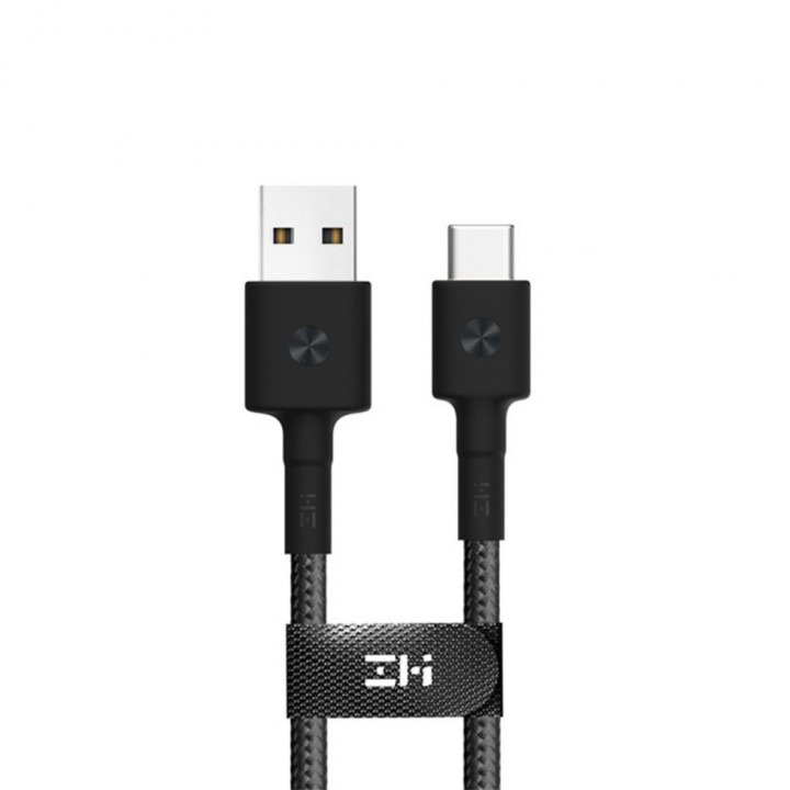 Кабель ZMI Magnet USB Type-C Cable (1м) (Черный) (AL401)