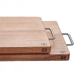 Разделочная доска из эбенового дерева Xiaomi HUO HOU Firewood Ebony Wood Cutting Board (45*30*3 см)