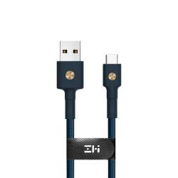 Кабель ZMI Magnet USB Type-C Cable (30см) (Синий) (AL411)