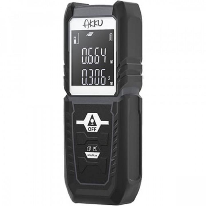 Лазерный дальномер Xiaomi AKKU Laser Distance Meter (AK302) (Черный)